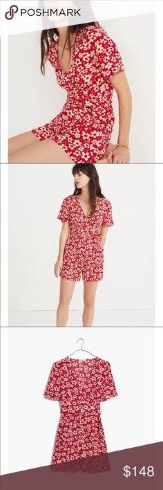7f8ec991dd1d Madewell daisy romper shorts Size 2 Nordstrom New Madewell daisy romper  shorts Size 2 Nordstrom. New with tags and runs true to size.