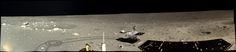 Chang'e 3 lander panorama