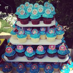 Mmm... Who wants a Paul Frank cupcake tower?