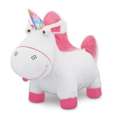 "I GOT THIS FOR MY BIRTHDAY!!!!!! Despicable Me 2 Electronic Plush - Agnes' Talking Unicorn - Thinkway - Toys ""R"" Us"
