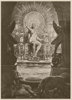 """venusmilk: """" Louis Chalon Circe and the Companions of Ulysses (source) """""""