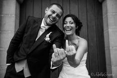 cool wedding photos - idée photos de couple - mariage