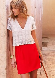 French Label Sezane Launches at Nordstrom: What to Shop Casual Summer Outfits For Teens, Summer Outfit For Teen Girls, Winter Outfits Women, Cute Fashion, Fashion Outfits, Fashion Trends, Fashion 2018, Dress Outfits, Fashion Ideas
