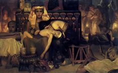 Sir Lawrence Alma-Tadema Death of the Pharaoh's Firstborn Son Oil on canvas 1872 x 77 cm Rijksmuseum (Amsterdam, Netherlands) Lawrence Alma Tadema, John William Godward, Caravaggio, Reine Victoria, Sphinx, Oil Painting Reproductions, Bible Art, Christen, Love Painting