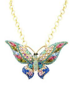 HauteLook | Meghan LA Jewelry Blowout: Meghan LA Butterfly Pendant Necklace