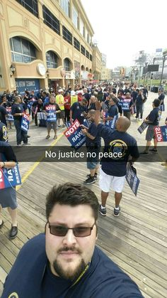 March against Trump Taj Mahal for workers rights.