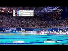 Finale WM 2015 Kasan 4x100m Staffel Freistil Männer