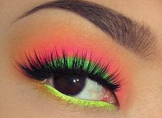 green pink and yellow