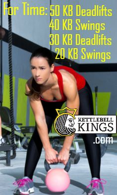 Kettlebell workouts involving kettlebell swings, deadlift, lunges, press and more from Kettlebell Kings! Crossfit Kettlebell, Kettlebell Kings, Kettlebell Benefits, Kettlebell Challenge, Kettlebell Training, Kettlebell Weights, Kettlebell Deadlift, Crossfit Games, Interval Training