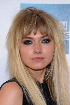 Imogen Poots honey blonde ombre