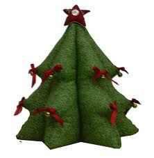 Resultado de imagen para molde arbol navidad