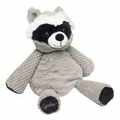 Rowan the Raccoon... look at those eye brows! super cute $25