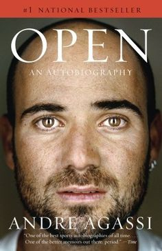 Open: An Autobiography. 796.342 AGA  Andre Agassi had his life mapped out for him before he left the crib. Groomed to be a tennis champion by his moody and demanding father, by the age of twenty-two Agassi had won the first of his eight grand slams and achieved wealth, celebrity, and the game's highest honors. But as he reveals in this searching autobiography, off the court he was often unhappy and confused, unfulfilled by his great achievements in a sport he had come to resent.