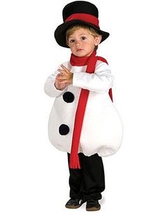 Toddler Baby Snowman Costume | Wholesale Christmas Halloween Costume