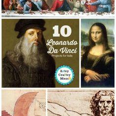 Os 10 projectos Leonardo da Vinci para crianças