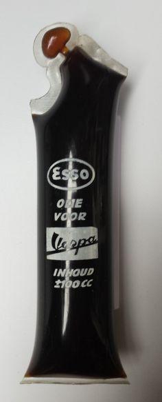 Esso olie voor Vespa