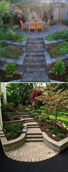 Yard is very important corner of your great house because it is the place you can relax in the upcoming warm days. So when you plan to design your house exterior, don't ignore the yard landscaping. And if you happen to have a yard includes a hill or hillside space than this is the post [...] #garden_steps_lighting