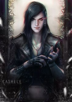 "Open  RP, be the demon prince?) I am led through the corridor, my hands tied in front of me. One of the creatures yanks me forward and throw me down in front of the throne. ""Sire, we caught this young Angel near the castle."" I look up, and my blood runs cold. It's the demon prince... I've never seen him in person. He smirks evilly, and I gulp."