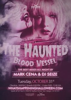 San Diego Halloween Yacht Party | Haunted Blood Vessel 2017 Tickets