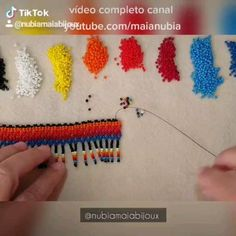 Bead Embroidery Tutorial, Beaded Embroidery, Peyote Patterns, Beading Patterns, Bead Crochet, Crochet Necklace, Xhosa, Handmade Wire Jewelry, Useful Life Hacks