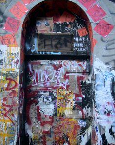 Graffiti in East SoHo, NYC Lower Manhattan, Soho, Graffiti, Street Art, Nyc, City, Building, Places, Travel