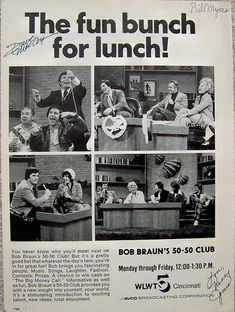 TV shows - The Bob Braun Show- My mom watched this religiously!