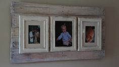 Diy pallet frame ideas for the home diy wooden projects, pal Pallet Mirror Frame, Pallet Picture Frames, Pallet Frames, Diy Frame, Wood Frames, Diy Wooden Projects, Reclaimed Wood Projects, Wooden Diy, Pallet Furniture Designs