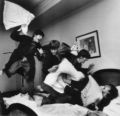 Beatles Pillow Fight, by Harry Benson | by Photo Tractatus
