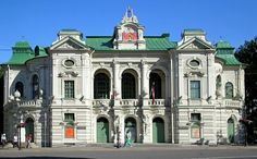 Riga, National Theatre, Latvia
