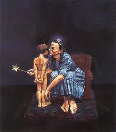 History of Art: Paula Rego, The Blue Fairy Whispers to Pinocchio