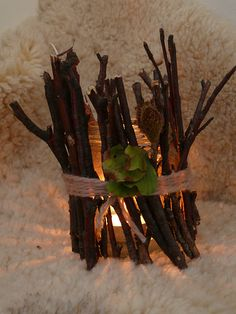 Natural Crafts : Twig Lanterns