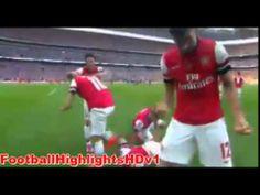 Aaron Ramsey Goal ~ Arsenal vs Hull City 3-2 ~ 17 05 2014 Fa Cup Final