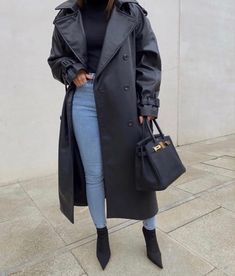 Stiletto Boots, Mode Style, Fall Outfits, Party Outfits, Military Jacket, Knitwear, Winter Fashion, Raincoat, Topshop