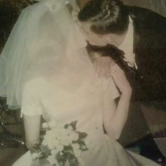 These high school sweethearts are my parents on their wedding day, September 20th 1969. They've been married over 40 years and still going strong. Love conquers all!!