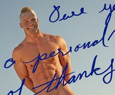 A Cool Personalized Note From Gay Porn Star Liam Magnuson