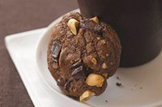 Chocolate Bliss Peanut Butter Cookies recipe #dessert