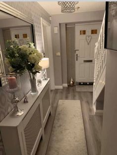 Stunning 20 Fabulous Hallway Decor Ideas For Home. Stunning 20 Fabulous Hallway Decor Ideas For Home. Hallway Ideas Entrance Narrow, House Entrance, Modern Hallway, Entry Hallway, Entrance Hall Decor, Grey Hallway, Entrance Halls, Hall Way Decor, Country Hallway Ideas