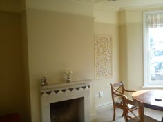 Green Room With Painted Coving
