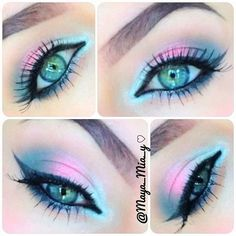 Easter Makeup looks Rock the Easter Party with the best themed makeup. Check out the perfect Easter Makeup looks / ideas & pastel eye makeup ideas for spring & easter season. Makeup Eye Looks, Eye Makeup Art, Beautiful Eye Makeup, Cute Makeup, Pretty Makeup, Skin Makeup, Makeup Inspo, Eyeshadow Makeup, Makeup Ideas