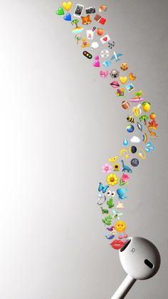 Another amazing headphone meme Iphone Wallpaper Pinterest, Emoji Wallpaper Iphone, Cute Emoji Wallpaper, Tumblr Wallpaper, Aesthetic Iphone Wallpaper, Photo Snapchat, Le Emoji, Tumblr Shop, Emoji Photo