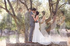 multiple exposure - Springville Wedding at River Ridge Ranch
