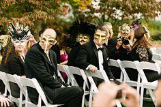 Masquerade Wedding