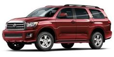 Toyota Sequoia - what a hunk of a car!
