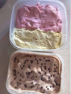 Greek Desserts, Greek Recipes, Cookbook Recipes, Dessert Recipes, Cooking Recipes, Sorbet Ice Cream, Gelato, Yogurt, Icing