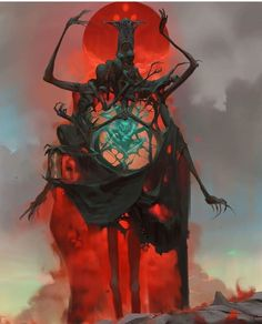 "edgerttmonsters: "" 'Locked in dreamless slumber, the jade spirit holds tenancy…"