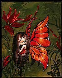 Art: Firey Wings by Artist Nico Niemi