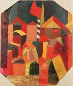 /kunstwerke/500px/Paul Klee - With the red flag 1915 (wc oili and pencil on primed cardboa - (MeisterDrucke-245853).jpg