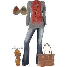 """""""Scarf"""" by irene541 on Polyvore"""