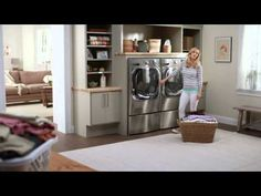 """LG Home Appliances """"Mom Confessions Too Fast"""" Super Ad, Upper Middle Class, Advertising Space, Stacked Washer Dryer, Mudroom, Home Appliances, Ads, Leslie Mann, Age 30"""