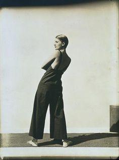 1930, 'Lee Miller Wearing Yraide Sailcloth Overalls', Baron George Hoyningen-Huene
